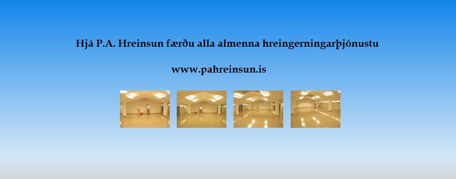 P.A. Hreinsun