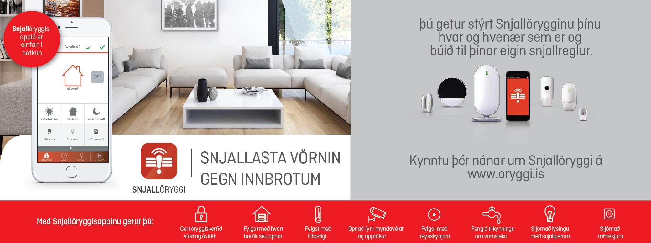 Öryggismiðstöðin - öryggi og velferð